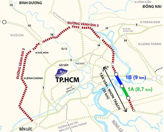 Đẩy nhanh tiến độ đường Vanh đai 3 thành phố Hồ Chí Minh với 5.300 tỷ đồng